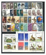 Ireland 50 Different Stamps Incl 3 Mini Sheets All Mint Unhinged/Complete Sets