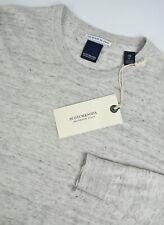 RRP €89 SCOTCH & SODA Men's XX LARGE Thin Linen Blend Crew neck Sweater 5091*mm