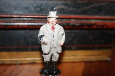 VINTAGE JOHILLCO JOHN HILL & COMPANY GENTLEMAN FARMER SOLID LEAD PAINTED FIGURE