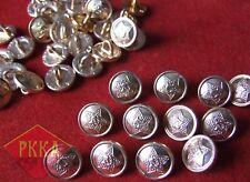 12x nouveau boutons bouton armée rouge soviet army MILITARY BUTTON urss ussr russia