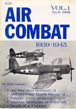 AIR COMBAT 1939 1945 V1 N6 WW2 F4U CORSAIR USN / DUTCH FOKKER T.VIII / VMB PBJ