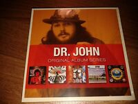 DR JOHN - ORIGINAL ALBUM SERIES 5 CD SET 2009 NEW SEALED BLUES ROCK RHINO
