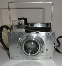 Plaubel Makina  II  10 cm f 2.9 Anticomar Lens  Compur Shutter