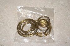 BRASS SPRING WIRE  ASSORTMENT 10 PIECES NEW CLOCK PARTS HOBBY