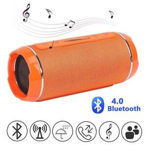 Tragbarer Wireless Bluetooth Lautsprecher Stereo Subwoofer SD USB Musicbox