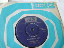 JONATHAN KING - MILLION DOLLAR BASH - DECCA 7""