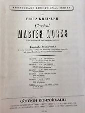 Classical MASTER WORKS-Tartini-The Devil's Trill diable trille-Sonate