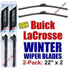 WINTER Wiper Blades 2-Pack Premium - fit 2005-2009 Buick LaCrosse - 35220x2