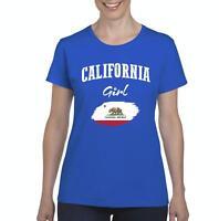 California Girl  Women Shirts T-Shirt Tee