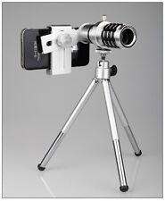 12x Zoom Optical Lens Telescope + Holder For Camera Telephoto Cellphone GD