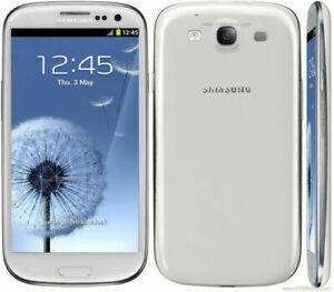 Samsung Galaxy S3 Smartphone 16GB White Factory Unlocked HD SUPER AMOLED