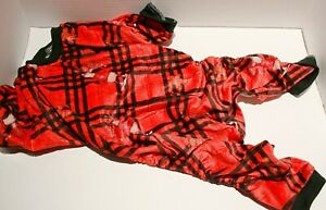 """CuteBone Christmas Dog Pajamas Jumpsuit - FOR SMALL BREED DOGS 16"""""""