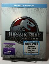Jurassic Park Collection (3D+Blu-ray/DVD,Include HD UV)NEW-Free S&H-All 4 Movies