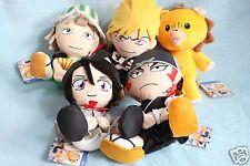 Bleach Plush Doll Rukia Kisuke Ichigo kon Renji Banpresto 2005 Japan Anime Toy