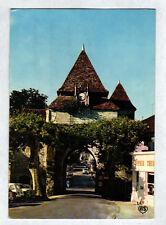 BARBOTAN-les-THERMES (32) PEUGEOT 403 & RENAULT 4L au PORCHE de l'EGLISE en 1975