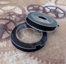 0.8mm Black Elastic Thread 10 Meters
