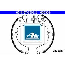 ATE Bremsbackensatz 4 Bremsbacken Trommelbremse Hinten 03.0137-0302.2