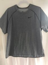 Grey Nike Dri Fit Shirt Xl/exercise/workout clothes/tshirt/active wear