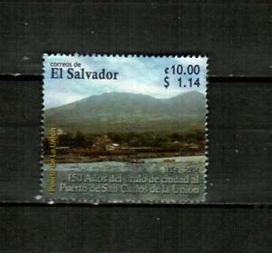 EL SALVADOR Scott's 1619 ( 1v ) Puerto de San Carlos F/VF Used ( 2005 ) #2