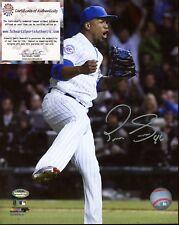 91301 Pedro Strop Signed 8x10 Baseball Photo AUTO Hologram Sticker w/ COA Cubs