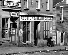 Slave Market Atlanta Georgia 1864 'Negro Sales' America 6x5 Inch Reprint Photo
