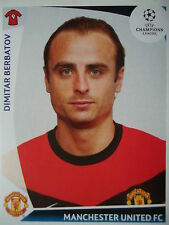 Panini 88 Dimitar Berbatov Manchester United UEFA CL 2009/10