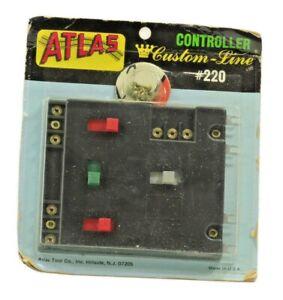 N Scale Atlas Controller Connector Custom Line #220 in Original Sealed Package