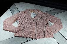 BIBA-Blazer/Bluse, rosa, Spitze, Gr.42, NAGELNEU! NP 99,95 €