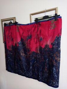 """Large Saree Sari Style Scarf Wrap Throw ~ Vibrant ~ Lovely Colours 37""""x84"""""""
