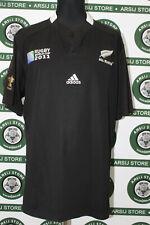 maglia rugby NUOVA ZELANDA ALL BLACKS 2011 TG XXL shirt maillot trikot jersey