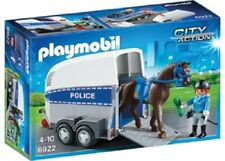 Playmobil Play Set 6922 - City: Police With Horse & Trailer