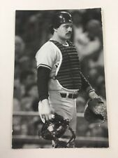 Rick Cerone (1983) New York Yankees Vintage Baseball Postcard NYY
