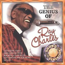 Genius of Ray Charles, Charles, Ray, brand new Factory sealed. Cracked case