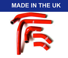 HONDA CR250 250CR SILICONE RADIATOR HOSES COOLANT HOSE PIPES KIT RED 03-08