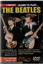 Lick Library Learn To Play The Beatles Paperback Writer me siento bien Guitarra Dvd