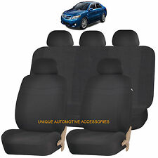 BLACK ELEGANCE AIRBAG COMPATIBLE SEAT COVER for TOYOTA 4 RUNNER CAMRY