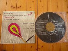 "Beethoven Concerto No. 5""Emperor Wilhelm Kempff Paul Van Kempen DECCA DL 9741 LP"