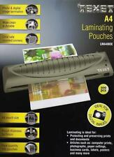 TEXET PACK OF 100 A4 SIZE LAMINATING POUCHES PHOTO AND DIGITAL IMAGE LAMINATION