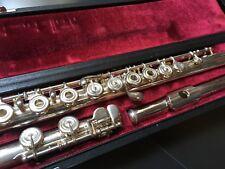 Yamaha YFL 581 Silver Open Hole Flute - New Pads