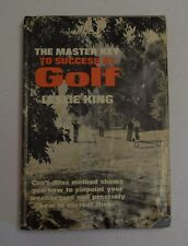 THE MASTER KEY TO SUCCESS AT GOLF BY LESLIE KING HC DJ 1962 1ST EDITION  BX47