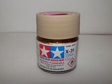 Tamiya Color Acrylic Paint Mini Titanium Gold #X-31 (10ml) NEW