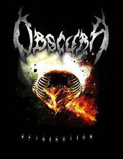 OBSCURA cd lgo RETRIBUTION Official SHIRT XL New OOP progressive death metal