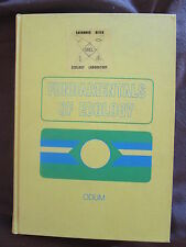 Buch Fundamentals of Ecology Grundlagen der Ökologie Umweltforschung Erde 1971