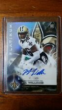 2015 Topps P.J. Williams Topps Platinum Certified Autographed Rookie Card #AR-PW