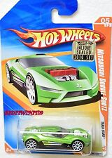HOT WHEELS 2010 TRACK STARS MITSUBISHI DOUBLE SHOTZ #05/12 GREEN FACTORY SEALED