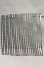"""20 GA. 1/4"""" HOLE  304 STAINLESS STEEL PERFORATED SHEET---10""""  X 10"""""""