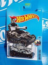 Hot Wheels 2017 HW Ride-Ons Series #67 Tanknator Silver & Black