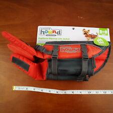 Outward Hound Granby PupSaver Ripstop Puppy Dog Life Jacket Orange XS 5-15lb