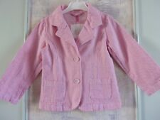 Ja6272  Veste m.l. fille rayé *** GIRLS COLLECTION *** 4 ans
