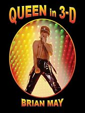 Queen in 3-D Book by May Brian Hardback